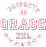 Property of Grace Personalized T-shirts Gifts