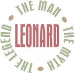 Leonard the man the myth the legend T-shirts Gifts