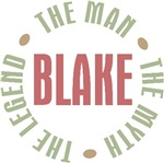 Blake the man the myth the legend T-shirts Gifts