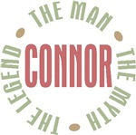 Connor the man the myth the legend T-shirts Gifts