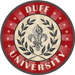 Duff Last Name University T-shirts Gifts