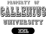Property of Callenius University T-shirts Gifts