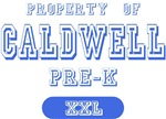 Property of Caldwell Pre-K T-shirts Gifts