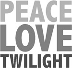 Peace Love Twilight T-shirts Gifts