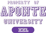 Aponte Last Name University Tees Gifts