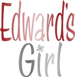 Edward's Girl Twilight Book Movie Tees Gifts