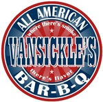 VanSickle's Last Name Barbecue Tees Gifts