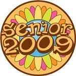Senior 2009 Custom Bright Flower Tees Gifts