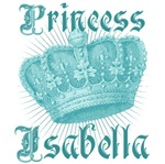 Princess Isabella Vintage Name Tees Gifts