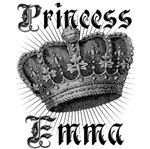 Princess Emma Vintage Name Tees Gifts