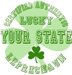 Lucky Leprechaun from your State Tees Gifts