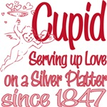Cupid Serving Love Since 1847 Tees Gifts