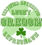 Authentic Lucky Oregon Leprechaun Tees Gifts