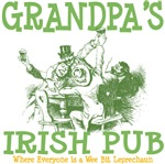 Grandpa's Vintage Irish Pub Tees Gifts