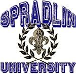 Spradlin Last Name University Tees Gifts