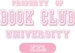 Property of Book Club University Tees Gifts