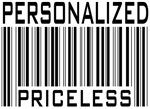 Personalized Priceless Barcode Designs Tees Gifts