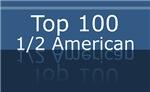 Top 100 Half 1/2 American Tshirts Gifts