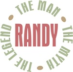 Randy the Man the Myth the Legend Tees Gifts