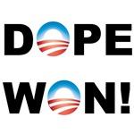 Barack Obama Dope Won