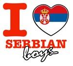 I love Serbian boys