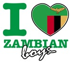 I love Zambian boys