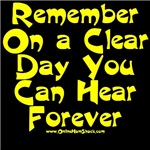 Remember On a Clear Day You Can Hear Forever