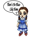 There's No Place Like Home is the perfect quote for Dorothy from the Wizard of Oz.  Relive your favorite story with this great Dorothy saying from the Wizard of Oz movie.<