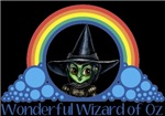 With all the colors of the rainbow, this Wonderful Wizard of Oz inspired design capturesWicked Witch of the West Wonderful Wizard of Oz.  The perfect gift for any Oz fan.
