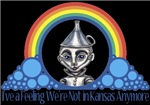 With all the colors of the rainbow, this Wonderful Wizard of Oz inspired design captures Tinman I've a feeling we're not in Kansas Anymore.  The perfect gift for any Oz fan.