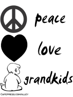 PEACE LOVE & GRANDKIDS