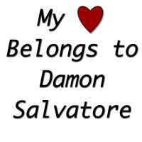 MY HEART BELONGS TO DAMON SALVATORE