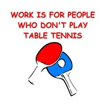 a funny table tennis joke on gift and t-shirts