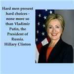 Hillary Clinton quote on gifts and t-shirts.