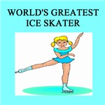 world's greatest ice skating gifts t-shirts