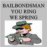 funny crime bail bondsman gifts t-shirts