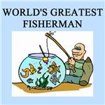world's greatest FISHerman GIFTS T-SHIRTS
