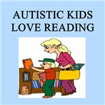 autistic asd boys reading books gifts t-shirts