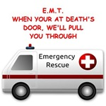 emergency medical technician emt gifts t-shirts