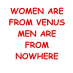 women are from venus gifts and t-shirts