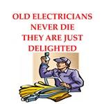 electrician joke gifts t-shirts