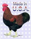 Made In USA Rock Rooster