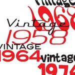 Vintage Year Birthday