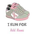 Run For Personalized Breast Cancer Shirts