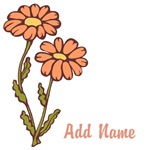 Personalized Name Flower Gifts