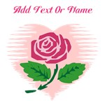 Personalized Name Love Rose Shirts