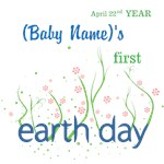 Personalized First Earth Day Shirst