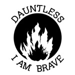 Dountless I Am Brave Tees