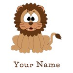 Lion Personalized Name Gifts