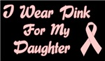 Breast Cancer Support Daughter Shirts